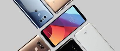 LG выпускает расширенную и урезанную версии провального флагмана G6