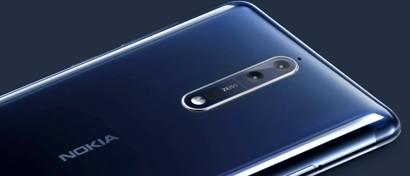 Выпущен премиальный Android-смартфон Nokia 8. Видео. Цены