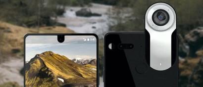 «Отец Android» начал продажи своего модульного смартфона из керамики и титана. Фото