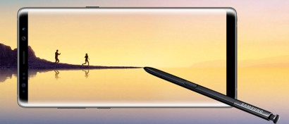 Samsung представила свой самый большой смартфон Galaxy Note8