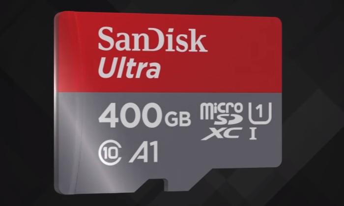 Рекордно емкая карта microSD прибавит 400 Гбпамяти смартфонам