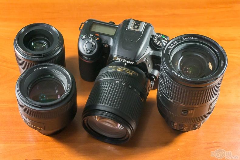 Фотографии разными объективами никон