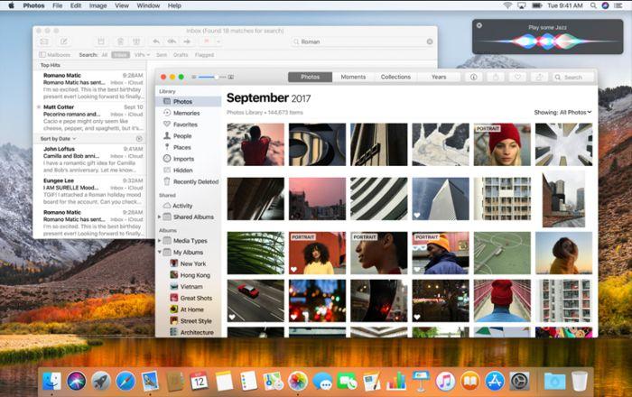 Apple официально выпустила настольную ОС macOS 10.13 High Sierra