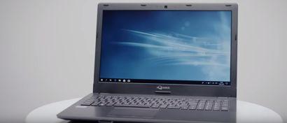 В России выпущен «первый официально отечественный» ноутбук. Видео