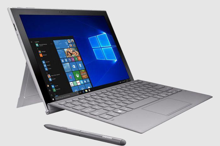 Самсунг  выкатила новый Windows-планшет Galaxy Book 2