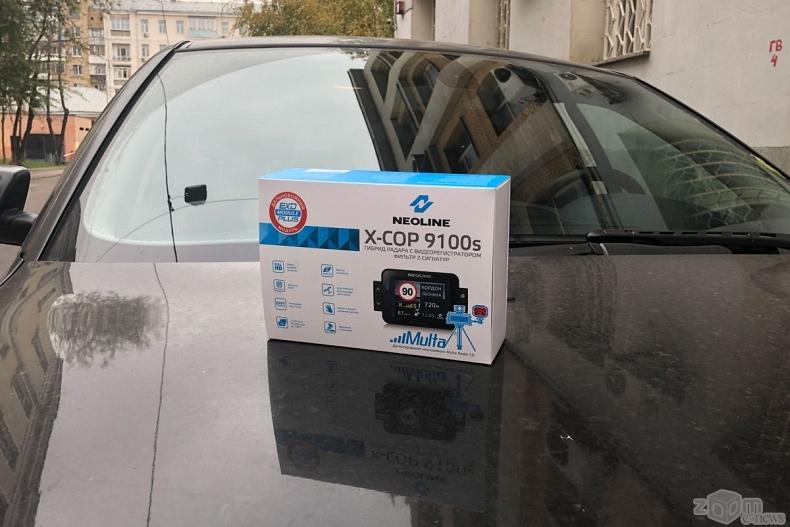 Обзор гибрида NEOLINE X-COP 9100s: умная защита от проблем в пути