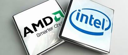 Intel приписывают план поглотить AMD