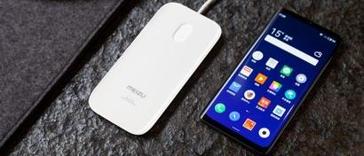 Meizu выпустила смартфон-«монолит» без единого разъема на корпусе. Видео