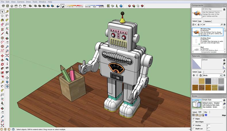 Какие программы используют для работы с 3d моделями самая красивая работа для девушек
