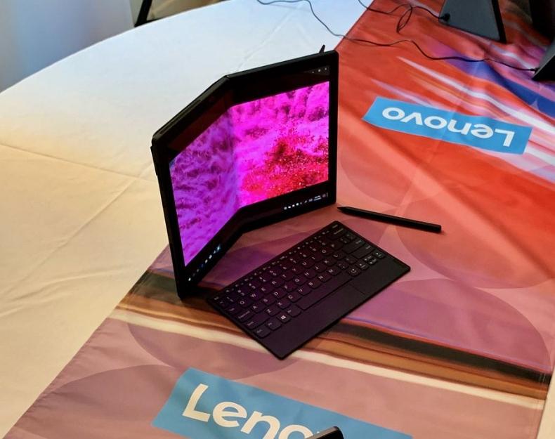 Первый ноутбук с гибким дисплеем и другие новинки Lenovo 2020 ...