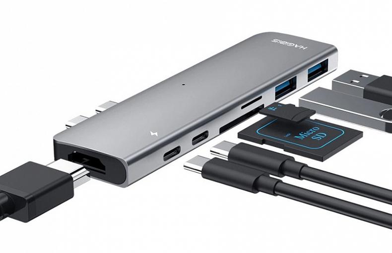 Док-станции для ноутбуков с USB-C до 5000 рублей: хиты продаж