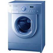 Стиральная машина LG Intellowasher Color WD-80185N, с фронтальной загрузкой, до 5 кг, 800 об/мин, класс A/A, 60 см (Ш)...