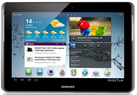 test galaxy tab 2