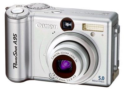 Canon Powershot A95 инструкция - фото 5