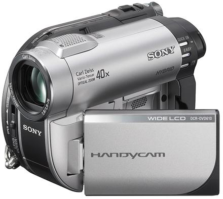 Самые продаваемые видеокамеры лета 2008