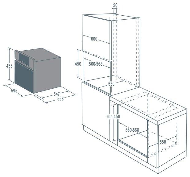 Духовой шкаф Asko OCM8493S
