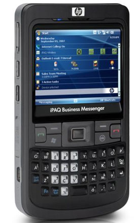 HP iPAQ 900 Business Messenger — бизнес-коммуникатор, анонсированный почти год назад, но до сих пор еще не выведенный на рынок