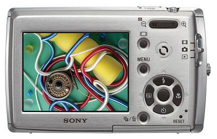 Sony Cyber-shot DSC-T33 - описание, характеристики, тест