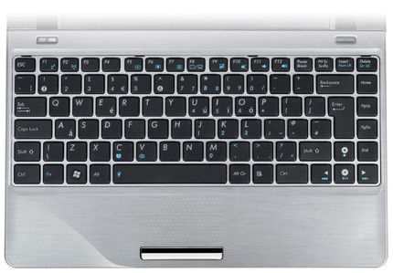Эргономичная Chiclet-клавиатура гарантирует максимальный комфорт.