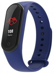 Фитнес браслет Elband A9 с измерением давления и пульса (Синий)