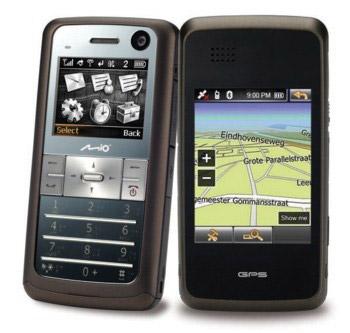 Mio Leap K1 — двуликий смартфон/навигатор