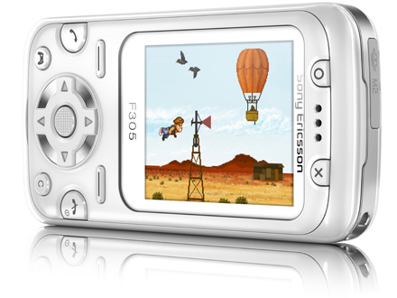 Sony Ericsson F305 — недорогой телефон для игр