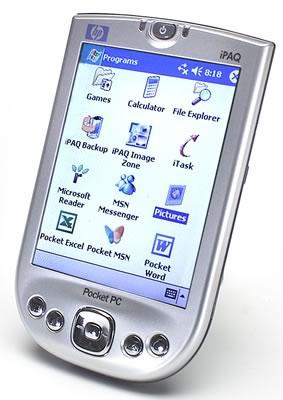 КПК HP iPAQ h4150 Pocket PC - стильная и лeгкая модeль карманного ПК
