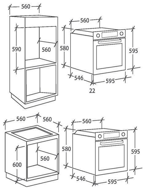 Духовой шкаф Candy FCP 615 WXL