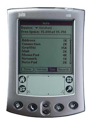 Palm m500