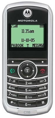 Сотовые телефоны Motorola.  Все предложения на Motorola c118 (1) .