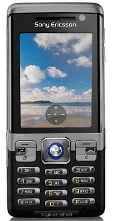 Защищенный камерофон Sony Ericsson C702