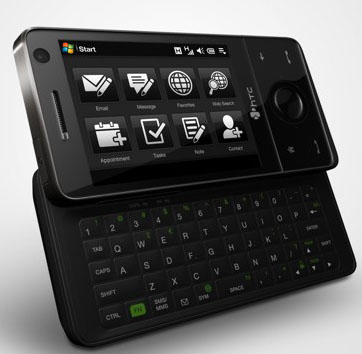HTC Touch Pro — полноклавиатурная вариация на тему HTC Touch Diamond