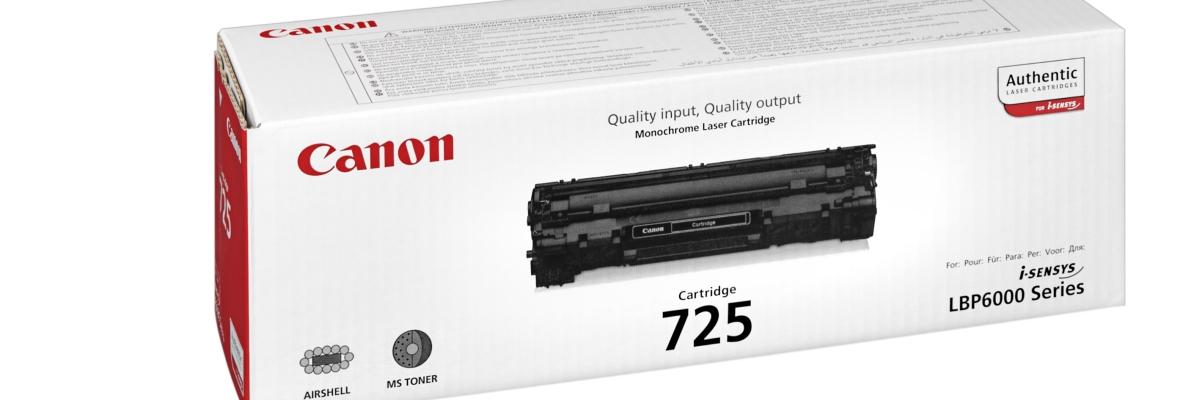 Оригинальный тонер Canon для лазерных принтеров и МФУ: безусловное качество с гарантированной выгодой
