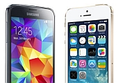 Тест-дуэль Samsung GALAXY S5 vs. Apple iPhone 5s: битва флагманов