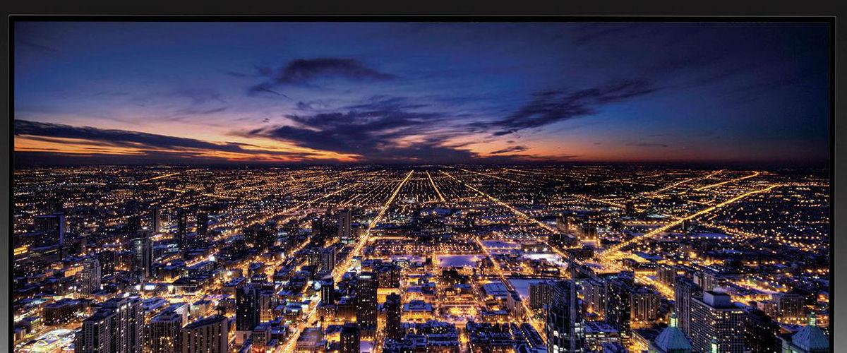 """Первый взгляд на изогнутый 4K-телевизор Samsung UHD Curved TV 55"""""""