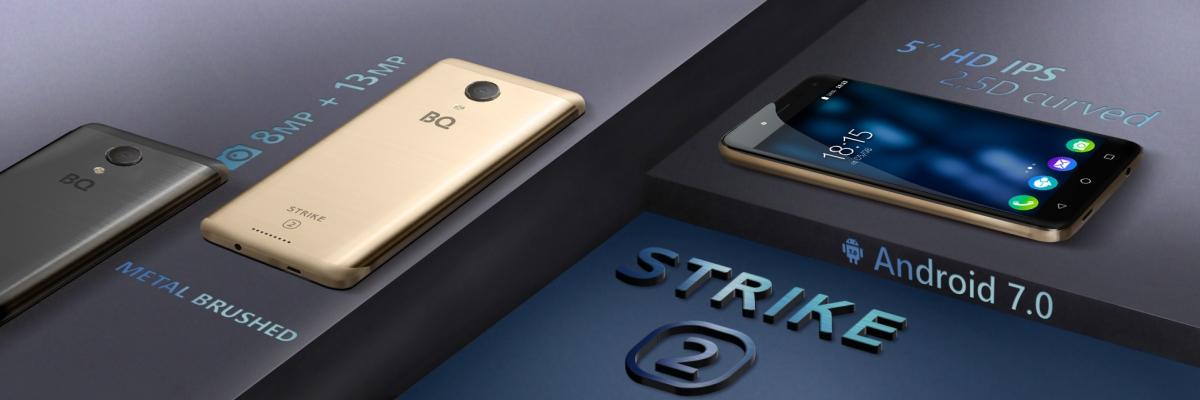 Обзор смартфона BQ Strike 2: недорогое решение для селфи