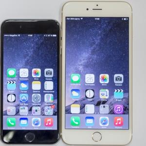 ������ ������ �� ����� ��������� Apple iPhone 6, iPhone 6 Plus