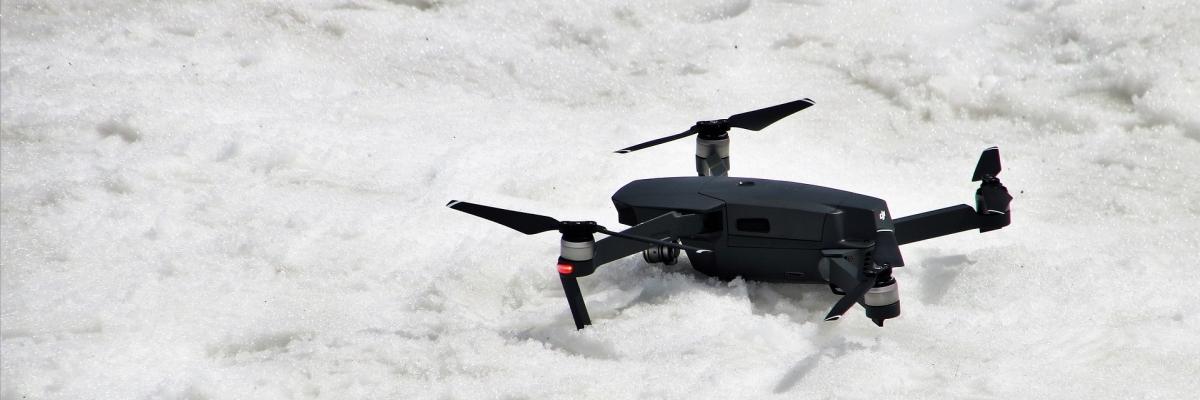 Как зарегистрировать квадрокоптер и подготовить его к полетам зимой
