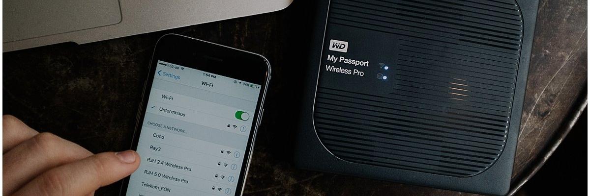 Обзор мобильного накопителя Western Digital My Passport Wireless Pro