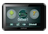 Обзор навигатора Explay Onliner 1: новое поколение выбирает Android