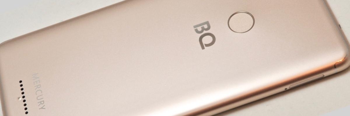 Обзор смартфона BQ 6016L Mercury
