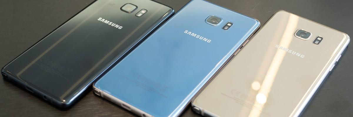 Первый взгляд на Samsung Galaxy Note 7