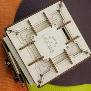 3D-модель «Сейф» от Ugears: красиво и надежно