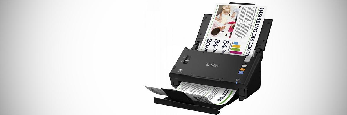 Тест сканера Epson WorkForce DS-560