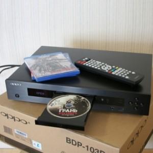 Обзор Blu-ray 3D медиаплеера OPPO BDP-103D