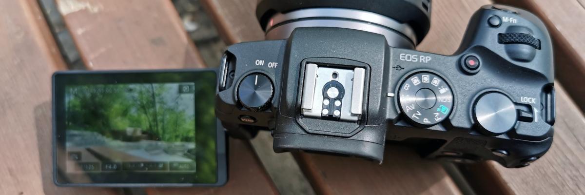 Обзор камеры Canon EOS RP: доступный полный кадр