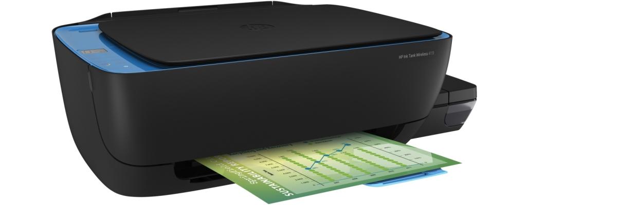 Обзор МФУ HP Ink Tank Wireless 419