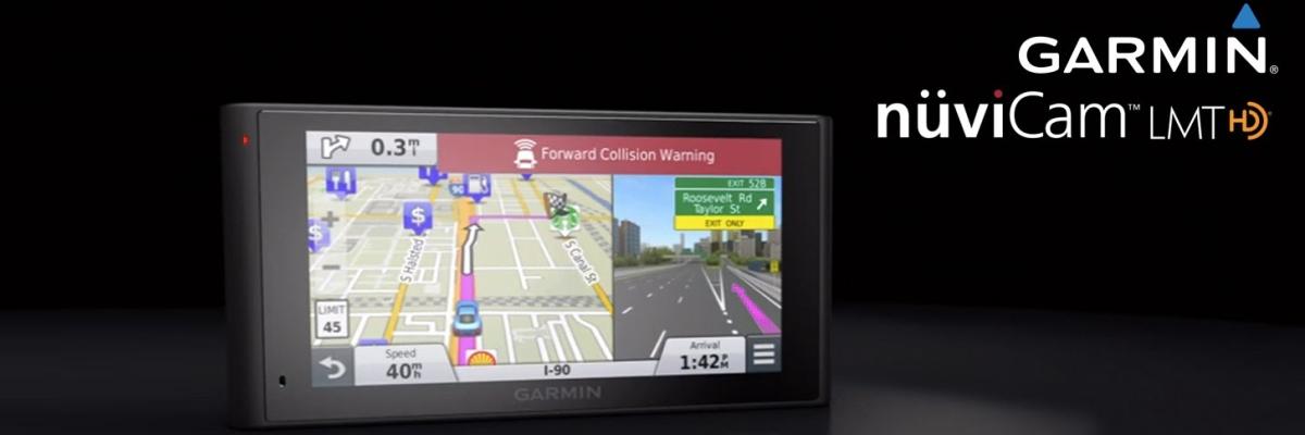 Обзор автонавигатора Garmin nuviCam