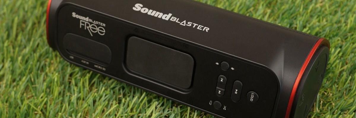 Беспроводная колонка Creative Sound Blaster FRee: больше звука