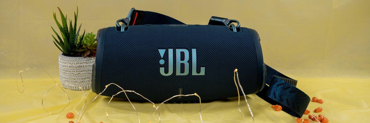 Обзор портативной акустической системы JBL Xtreme 3